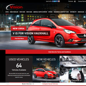 Vision Vauxhall launch new generation responsive website