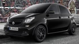 smart forfour edition black
