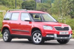 Approved Used SKODA Yeti Outdoor