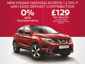 New Nissan QASHQAI Acenta 1.2 DIG-T